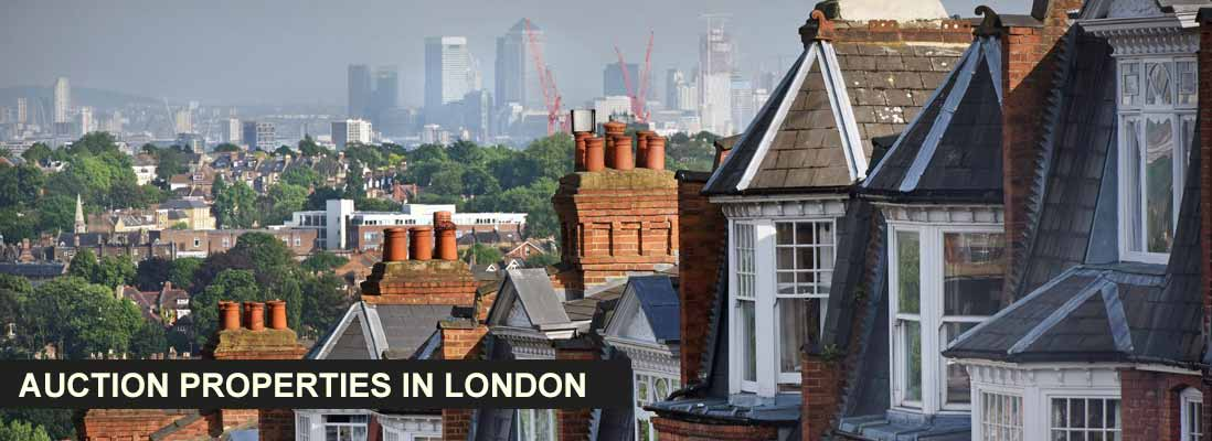Auction properties in London, UK