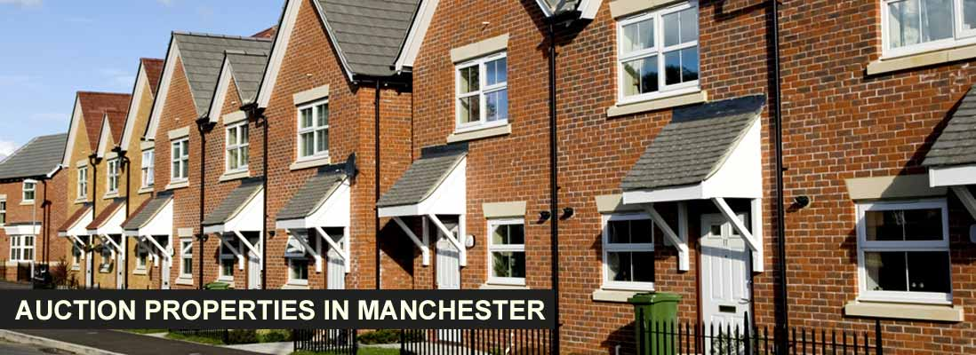 Auction properties in Manchester