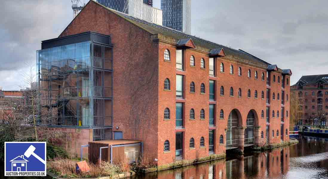 Image showing flats for sale by auction in Castlefield, Manchester
