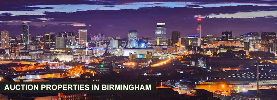 Auction Properties in Birmingham