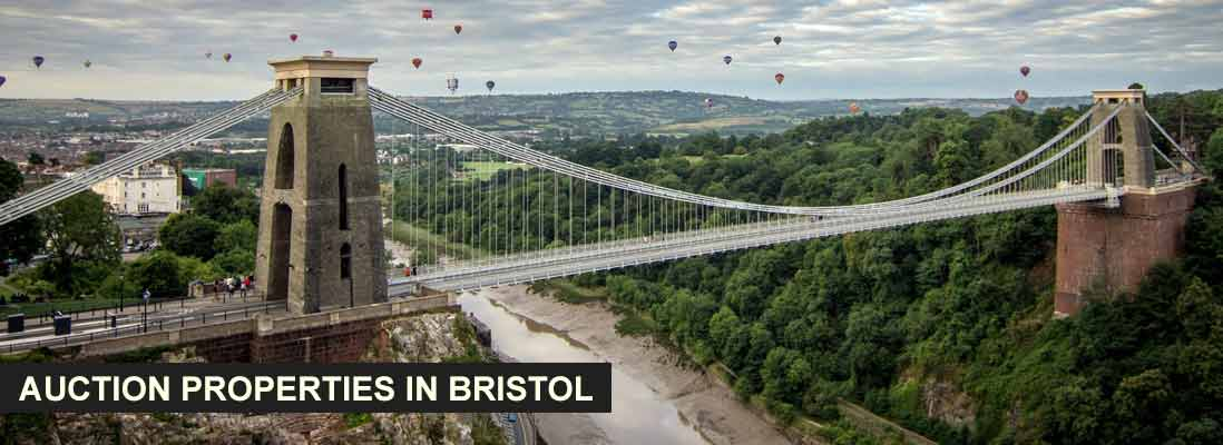 Auction properties in Bristol, England