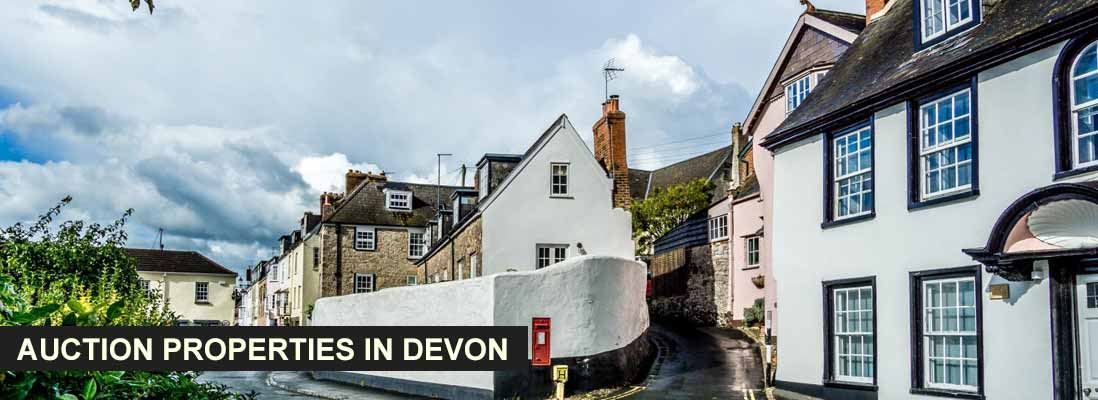 Property auctions in Devon