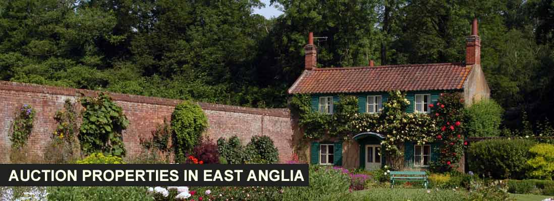 Auction properties in East Anglia, England
