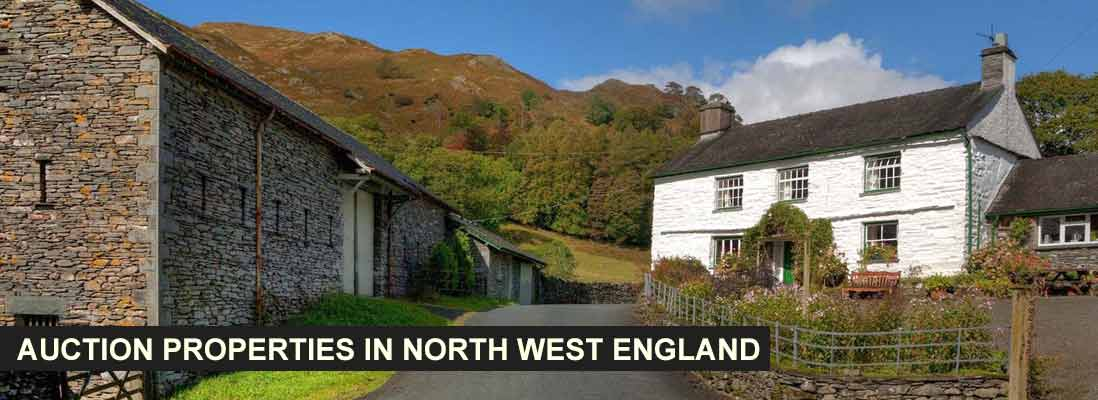 Auction properties in North West England