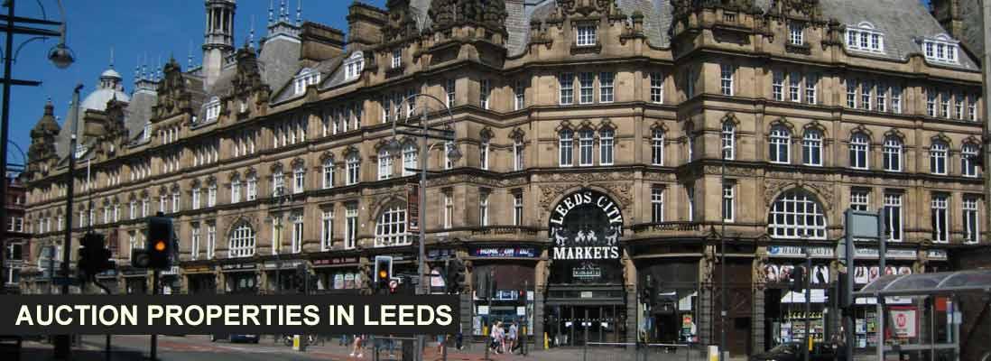 Auction properties in Leeds