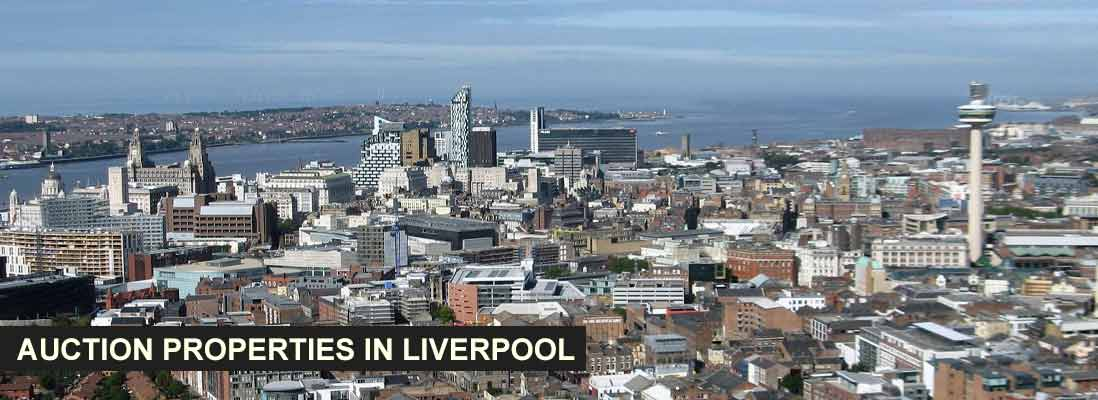 Auction properties in Liverpool