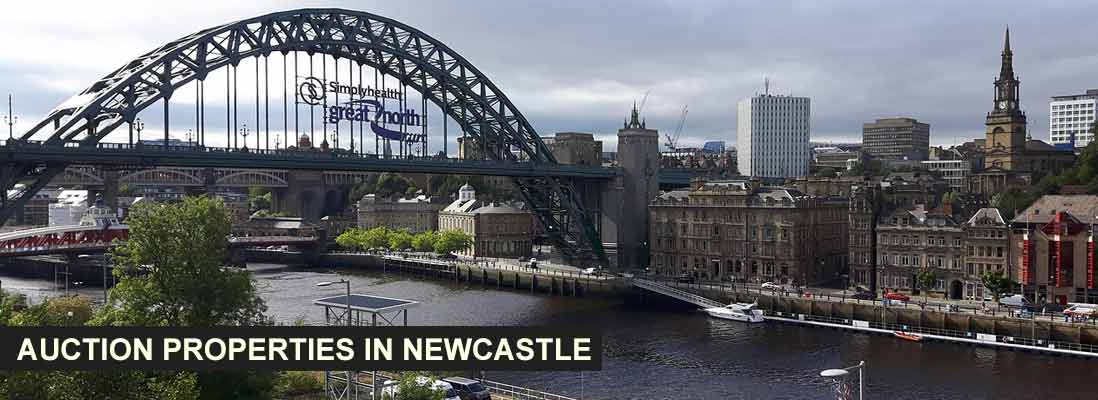 Auction properties in Newcastle
