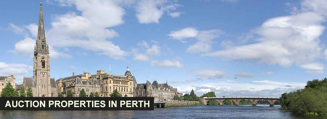 Auction properties in Perth, Scotland