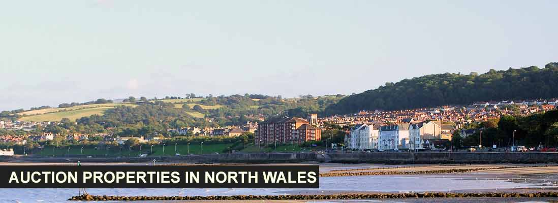 Auction properties in North Wales