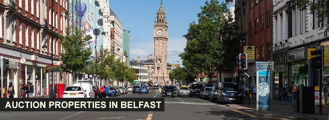 Auction properties in Belfast, Northern Ireland
