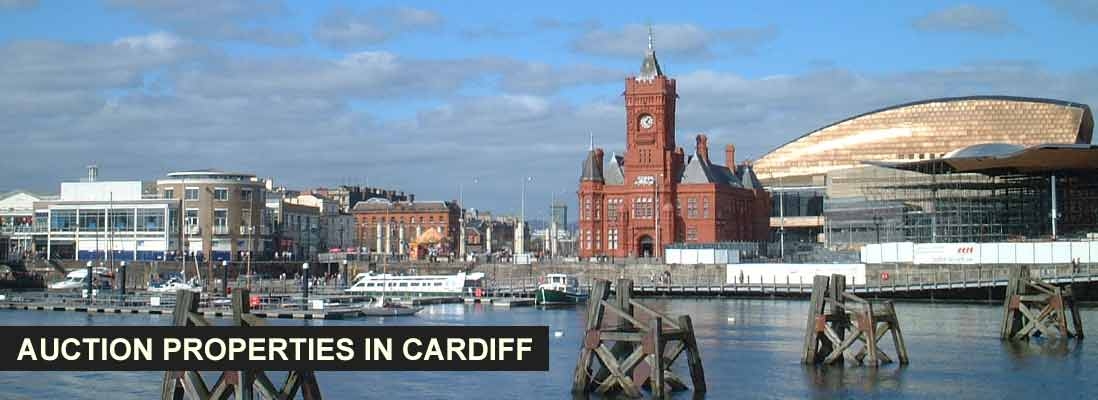 Auction properties in Cardiff, Wales