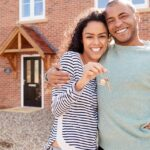 Couple buying a property as an investment