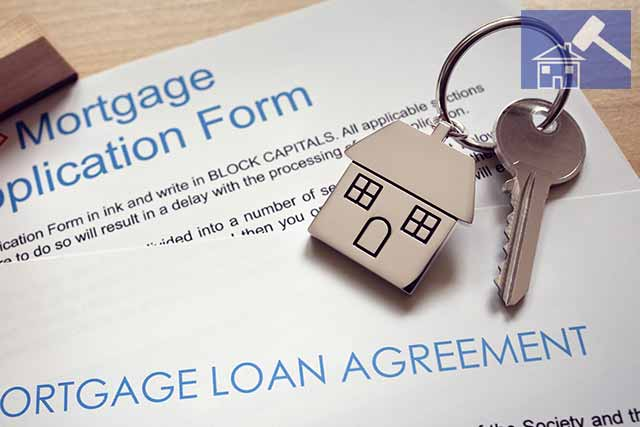 Image showing a buy-to-let mortgage application form