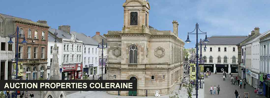 Auction properties in Coleraine