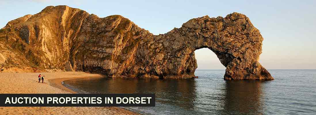 Auction properties in Dorset are extremely popular