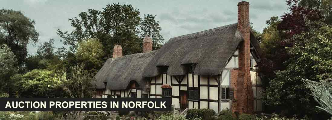 Property auctions in Norfolk, England