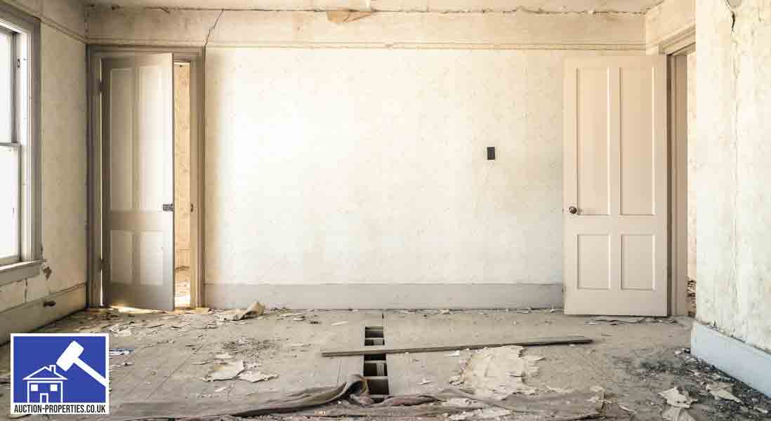 Renovation property before work begins