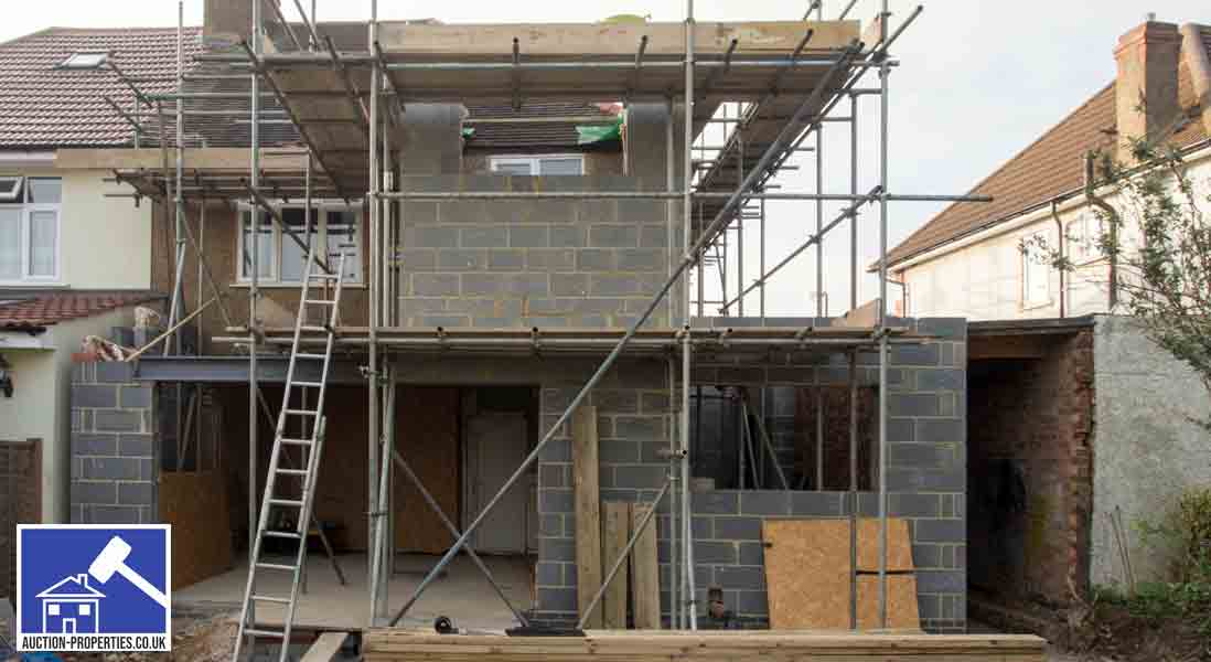 The costs of building an extension on your house