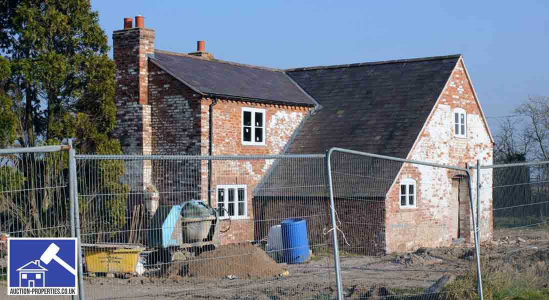 Image showing a house eligible for home improvement grants