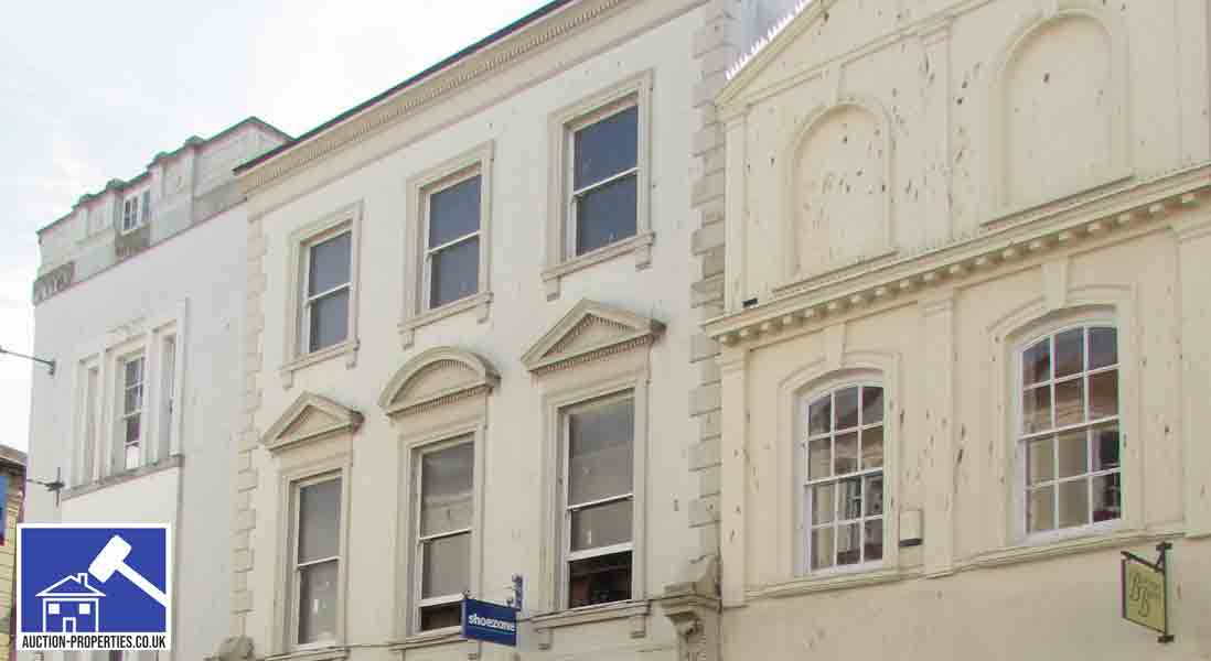 Property for sale by auction in Barnstaple, Devon