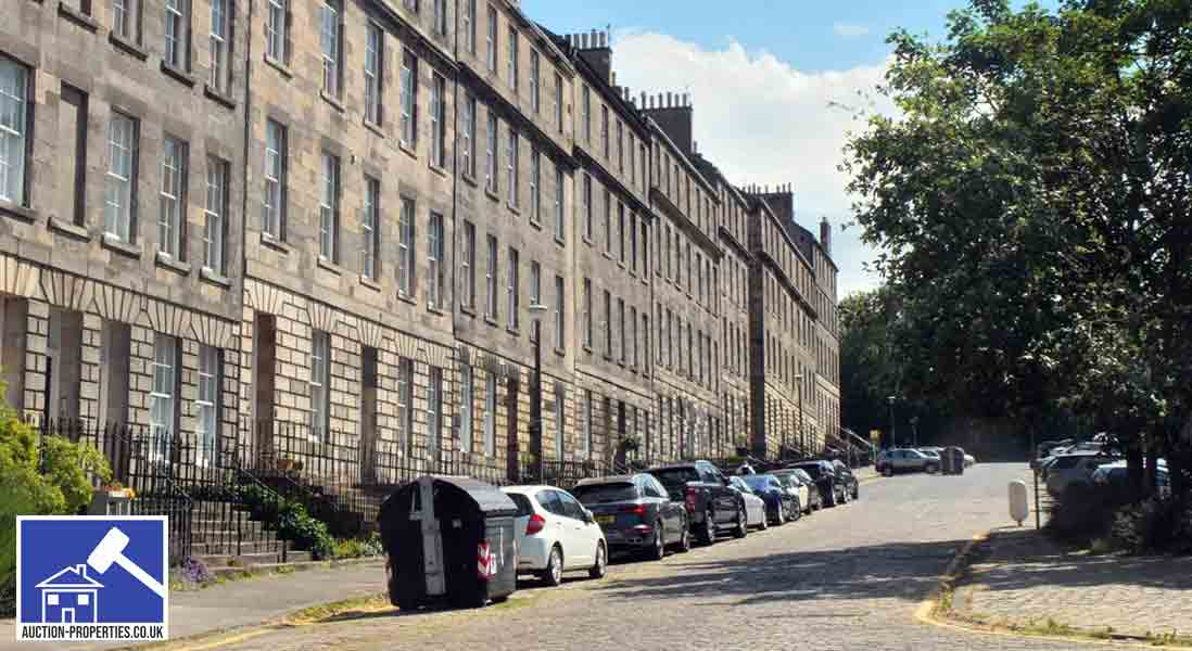 Image showing properties sold at auction in Edinburgh Scotland