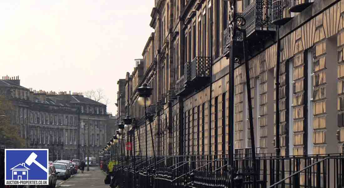 Image showing properties for sale in Edinburgh New Town