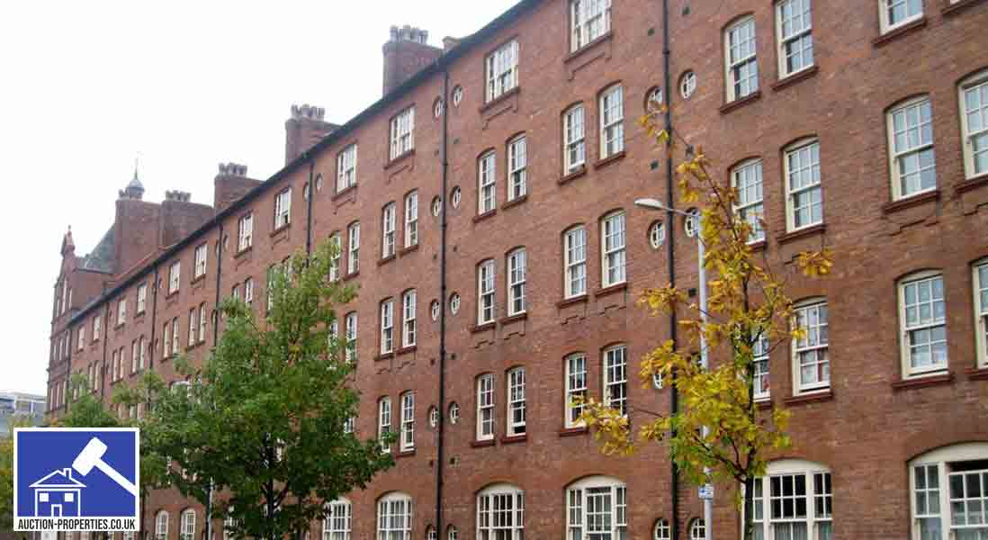 Image showing buy to let flats in Manchester