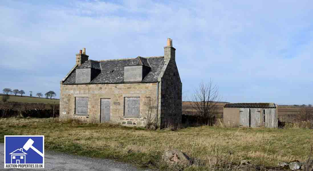 Image showing a house for sale via property auction
