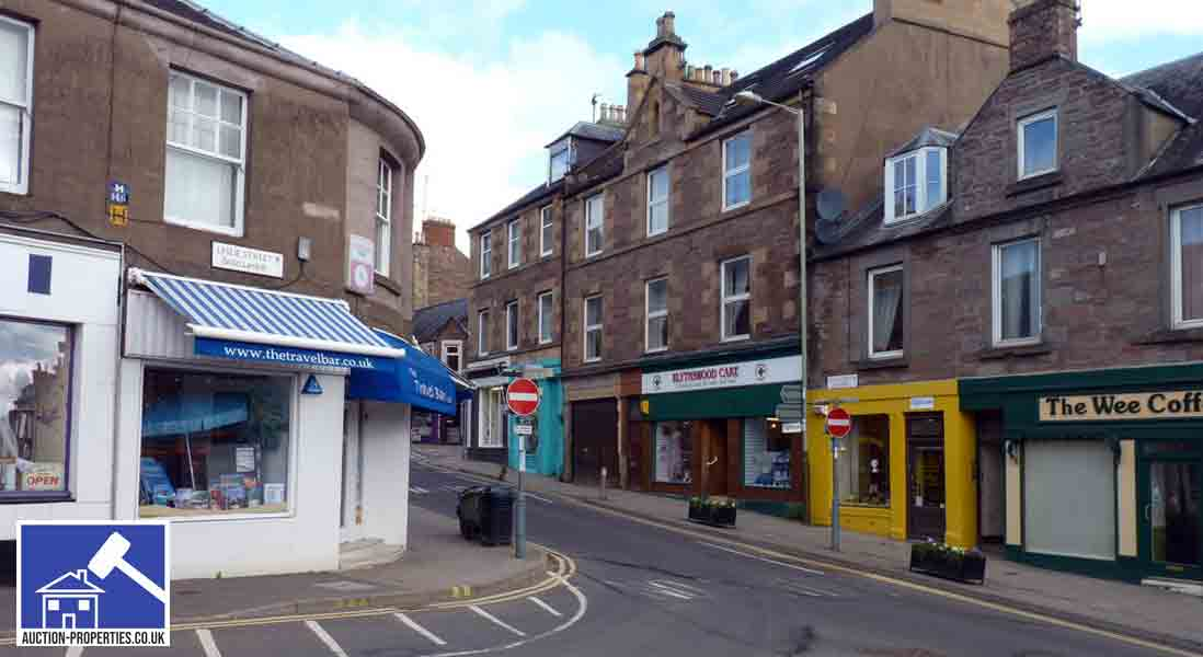 Property for sale in Blairgowrie, Perthshire
