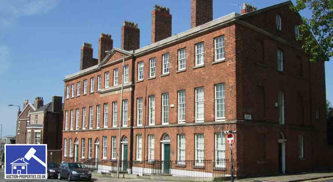 Image showing rented flats in Liverpool