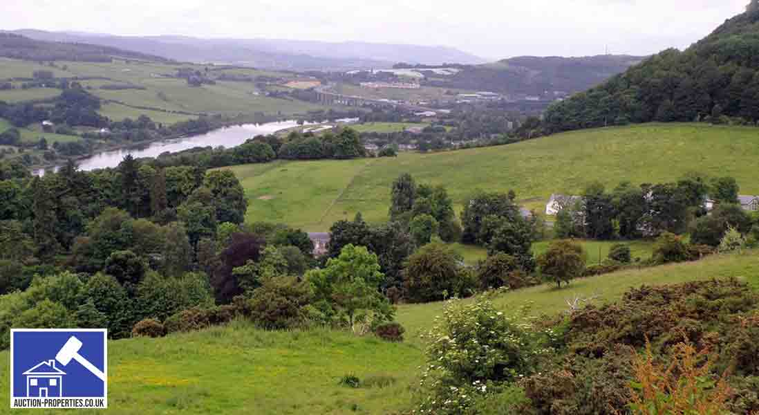 Rural property for sale in Perthshire, Scotland