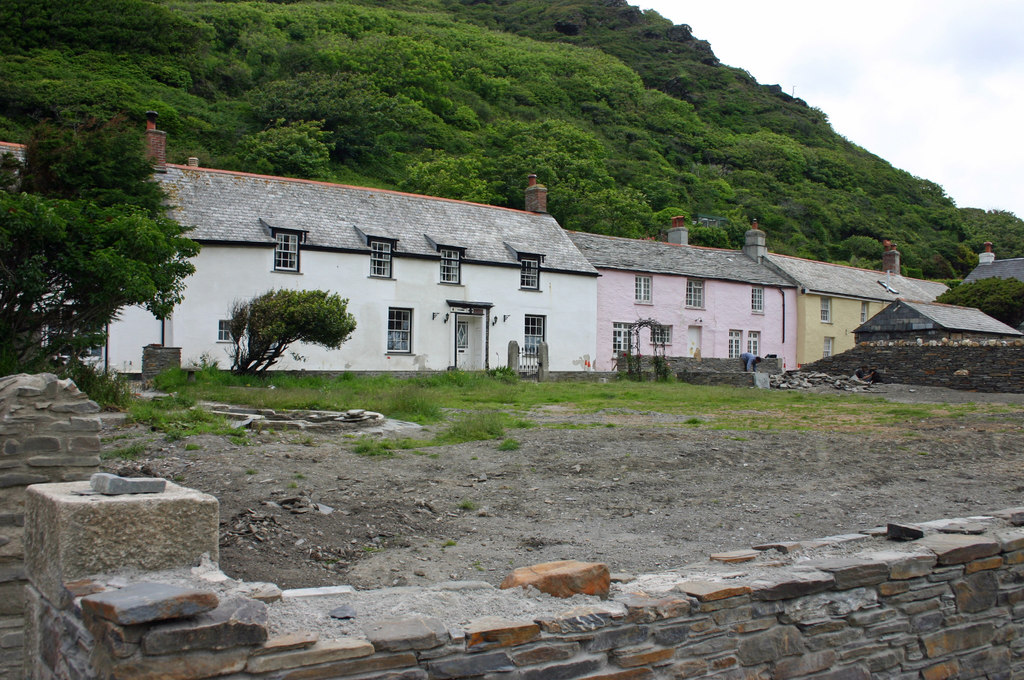 Image showing houses in Cornwall
