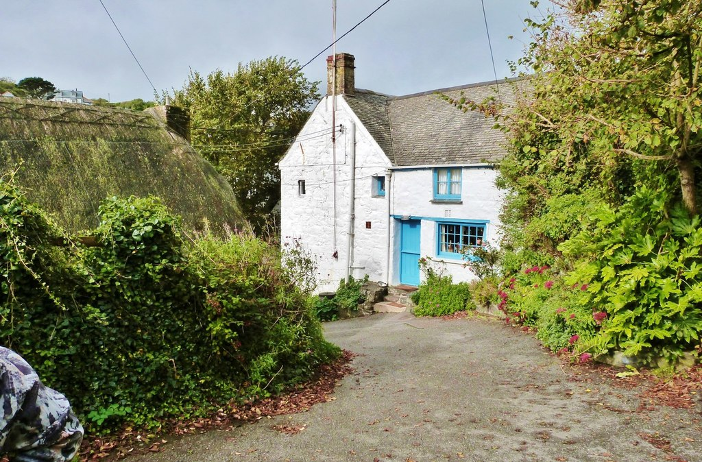 Image showing an old property in Cornwall