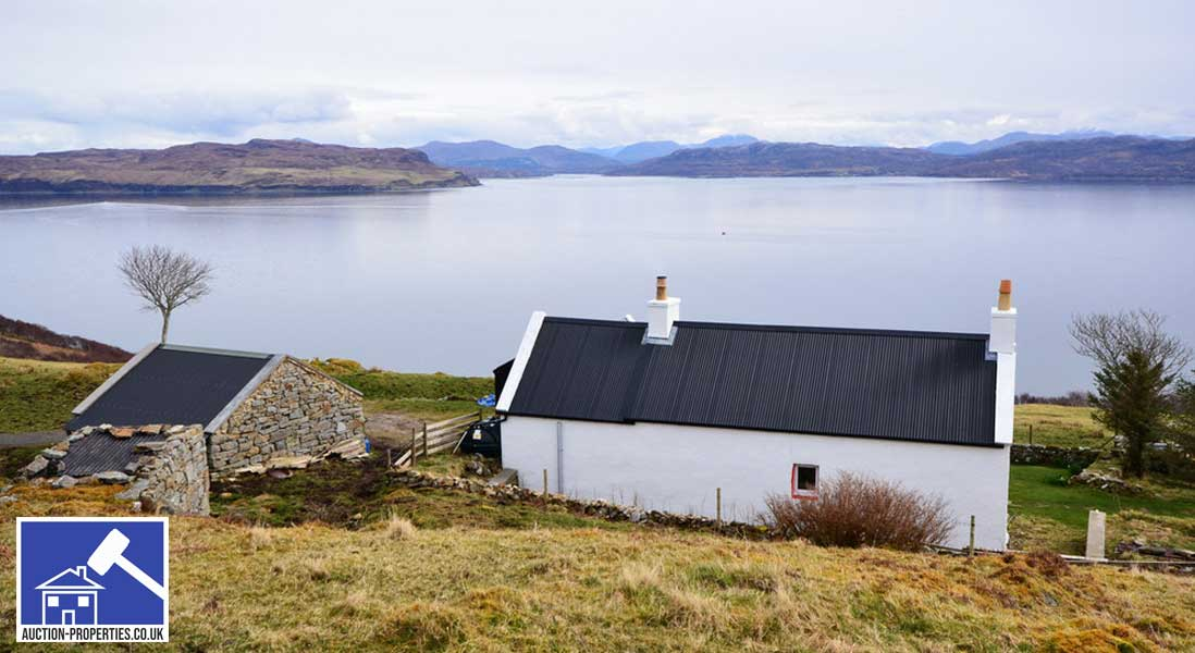 Photo of a cottage sold via property auctions in Scotland