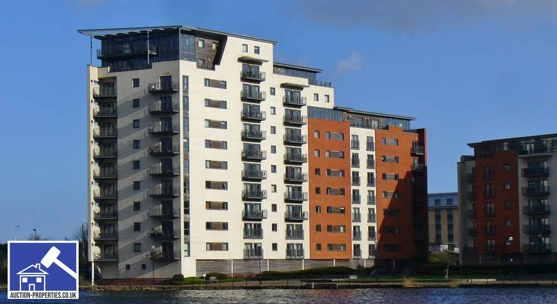 Photo showing flats for sale by auction in Cardiff, Wales