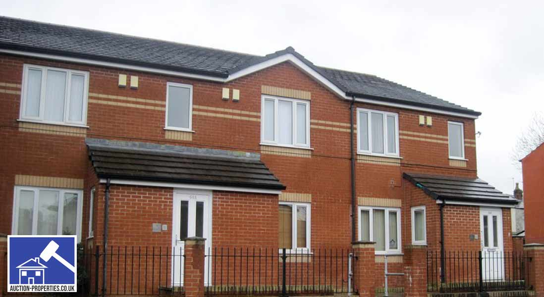 Photo showing houses for sale in Manchester, England