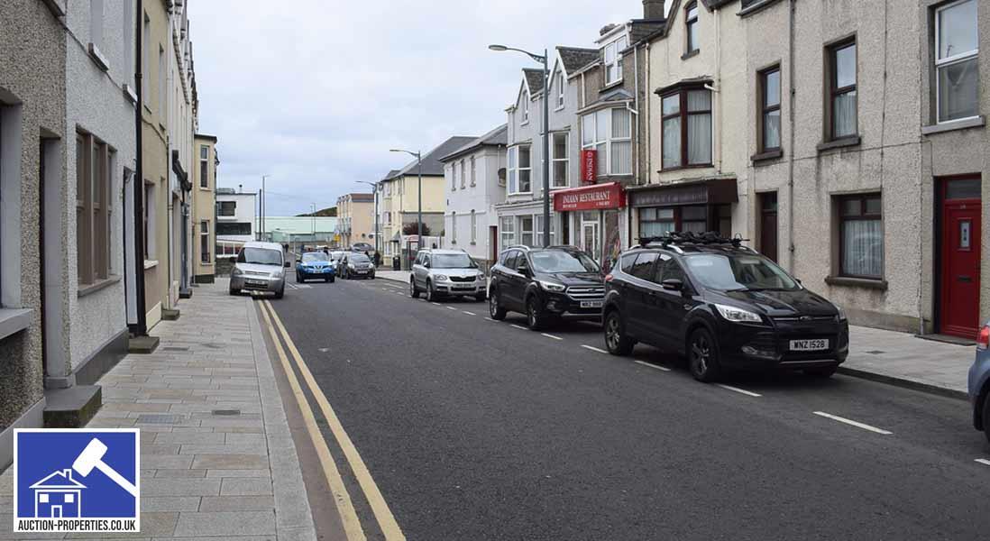 Image showing properties in Portrush, Northern Ireland